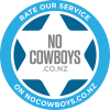 Rate our service on No Cowboys
